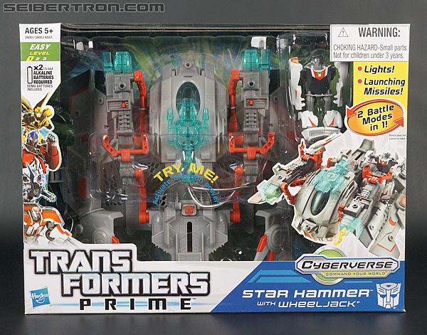 Transformers Prime: Cyberverse Star Hammer (Image #1 of 118)