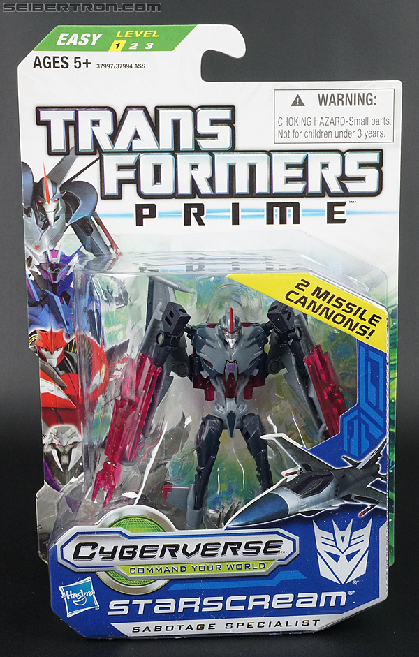 Transformers Prime: Cyberverse Starscream (Image #1 of 154)