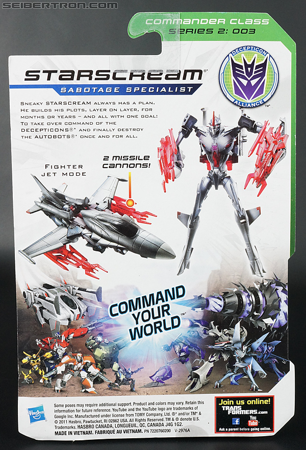 Transformers Prime: Cyberverse Starscream (Image #17 of 154)