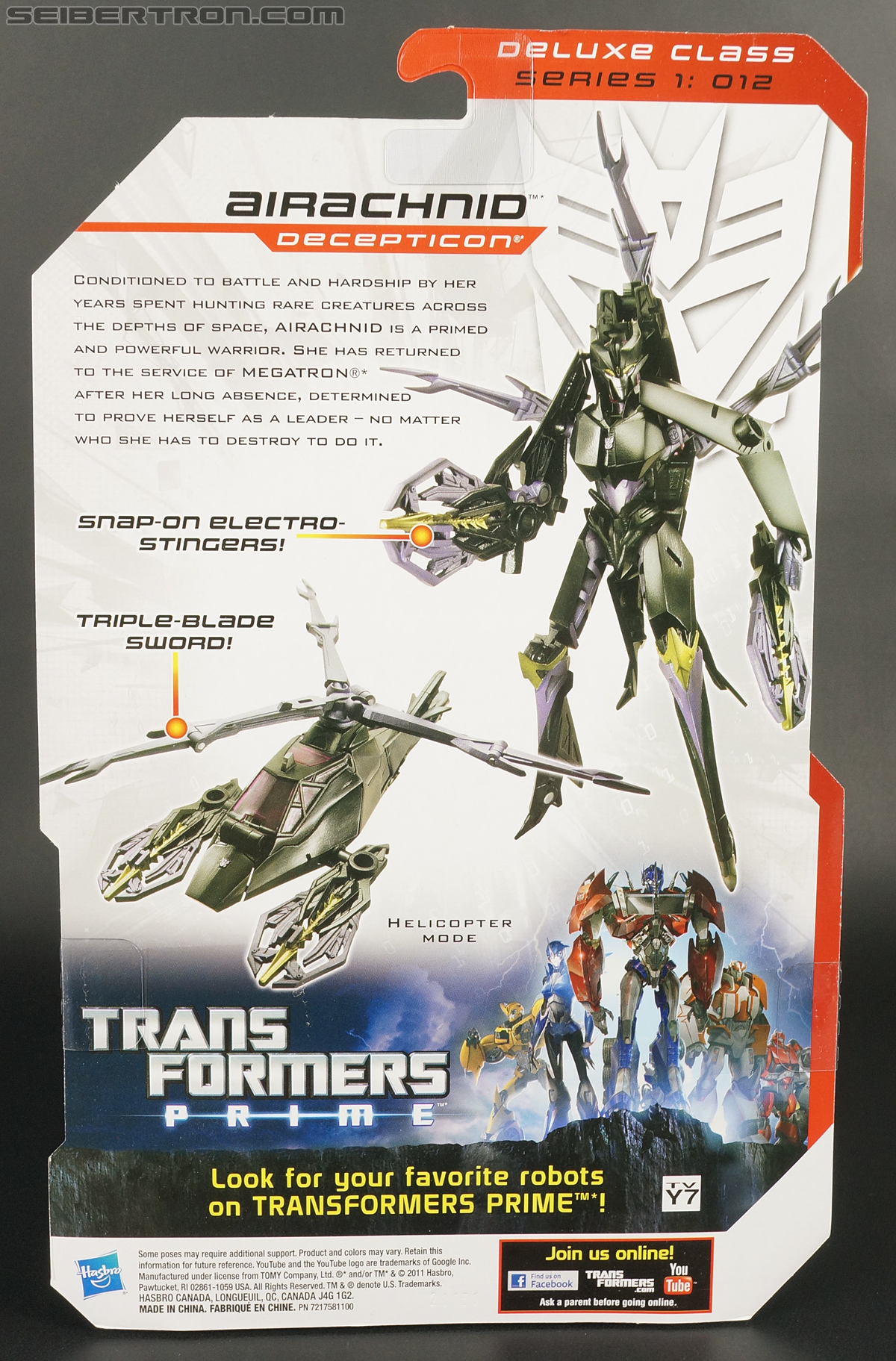Transformers Prime: Robots In Disguise Airachnid (Image #10 of 158)