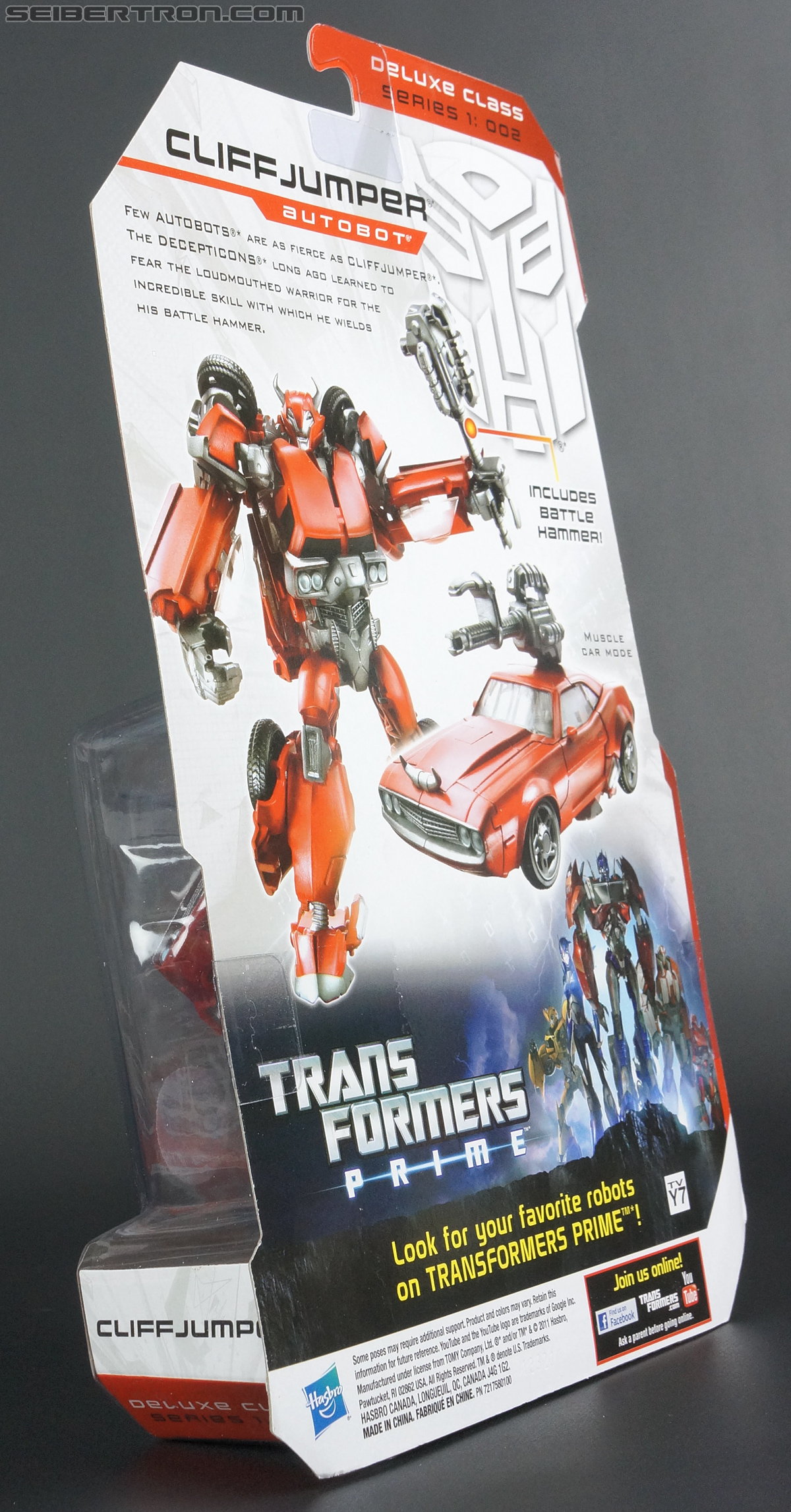 Transformers Prime: Robots In Disguise Cliffjumper (Image #17 of 159)