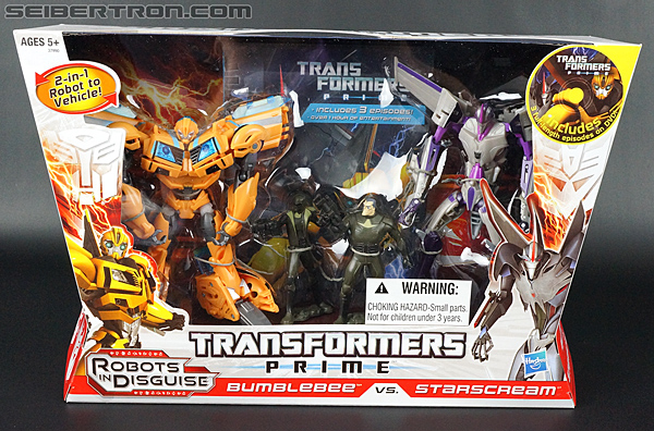 Transformers Prime: Robots In Disguise Starscream (Entertainment Pack) (Image #18 of 172)