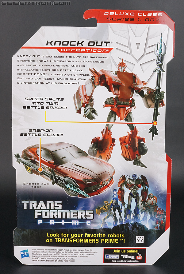 Transformers Prime: Robots In Disguise Knock Out (Image #9 of 123)