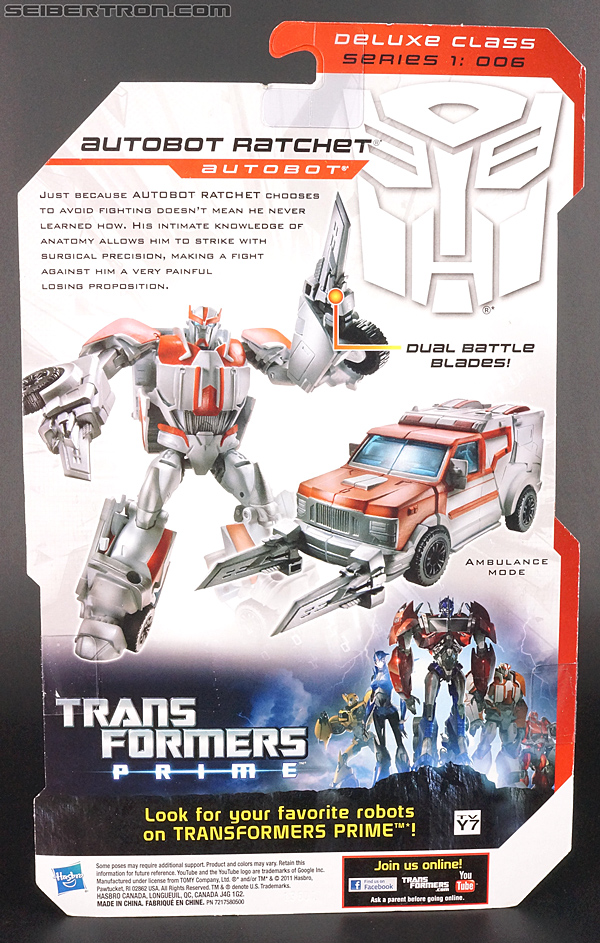 Transformers Prime: Robots In Disguise Ratchet (Image #10 of 178)