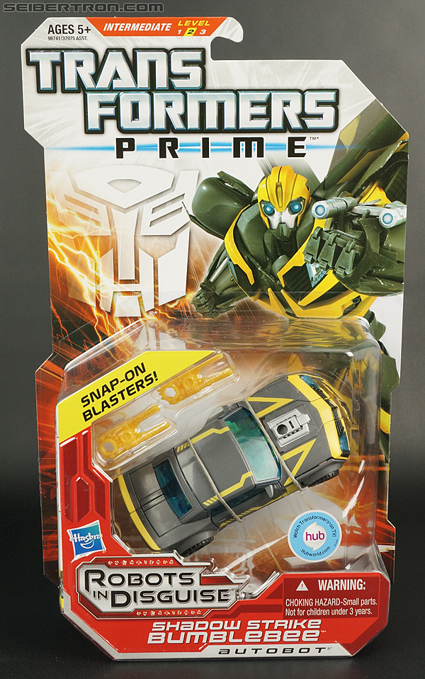 Transformers Prime: Robots In Disguise Shadow Strike Bumblebee (Image #1 of 128)