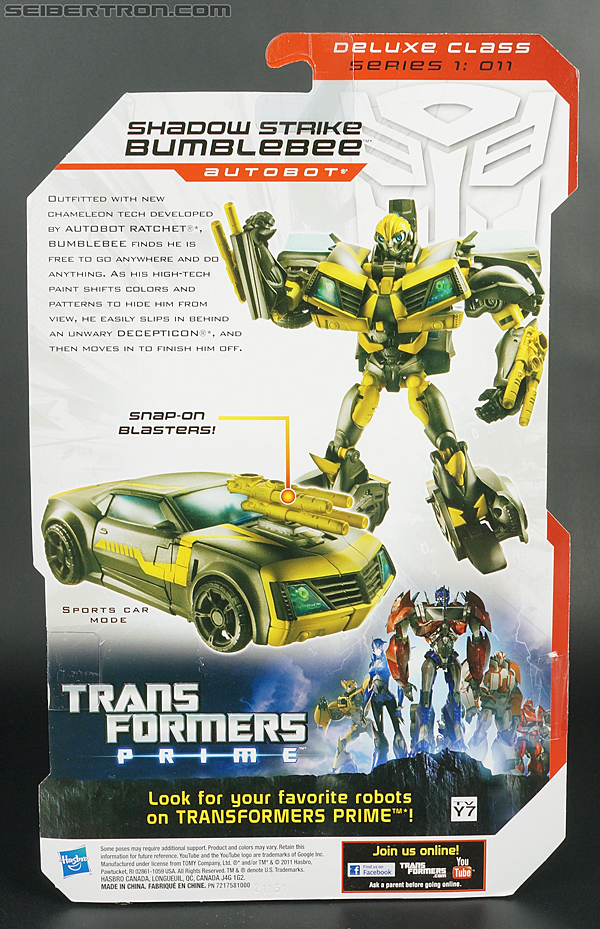 Transformers Prime: Robots In Disguise Shadow Strike Bumblebee (Image #9 of 128)
