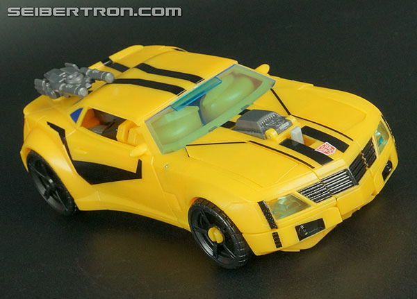Transformers News: New Galleries: Transformers Prime Weaponizers Optimus Prime and Bumblebee