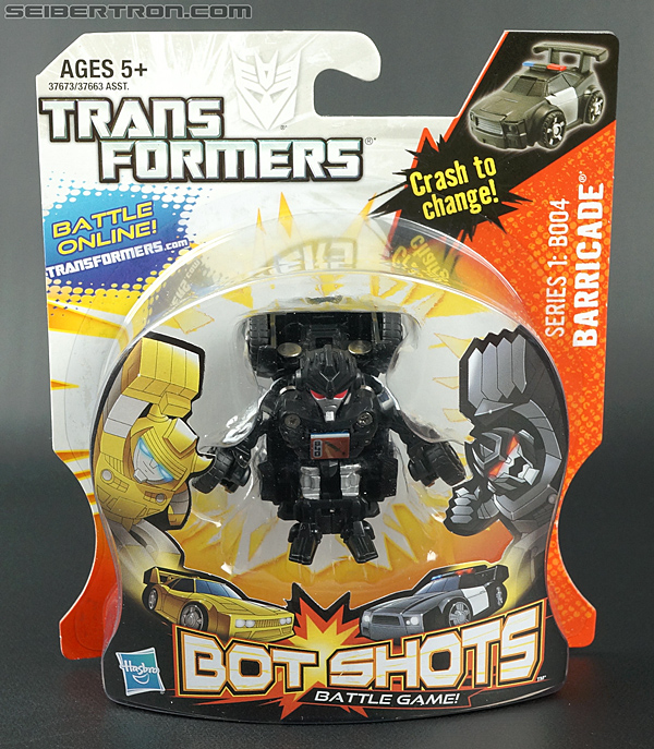 Transformers Bot Shots Barricade (Image #1 of 68)