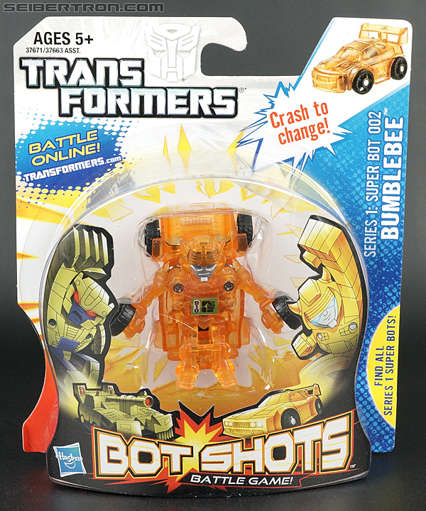 Transformers Bot Shots Bumblebee (Chase) (Image #1 of 82)
