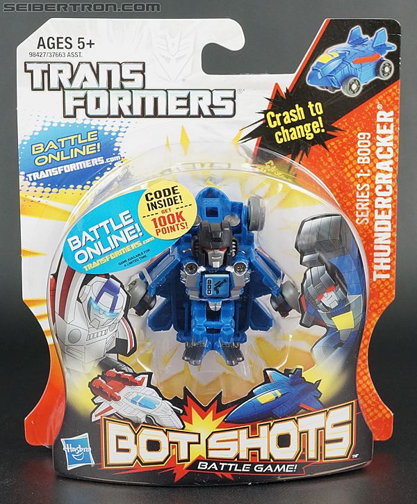 Transformers Bot Shots Thundercracker (Image #1 of 74)