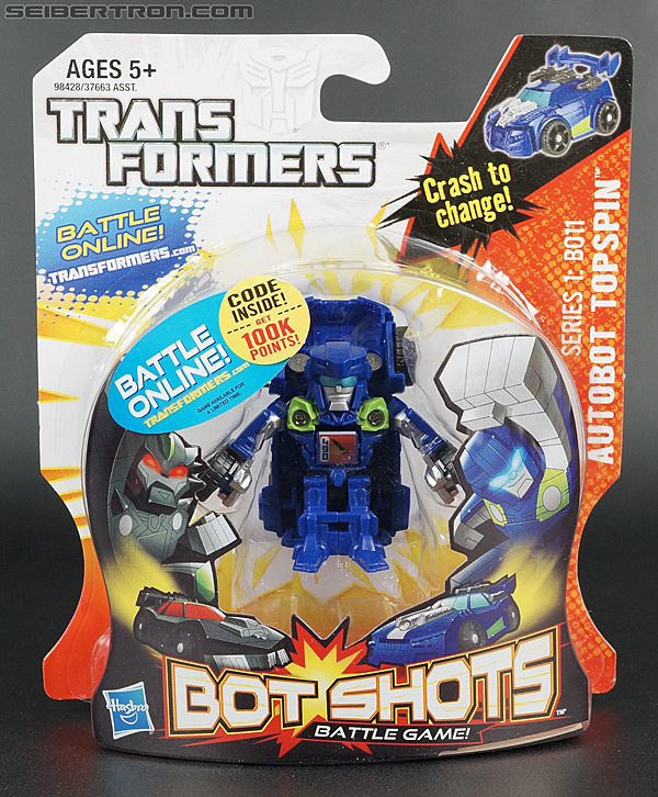 Transformers Bot Shots Topspin (Image #1 of 75)