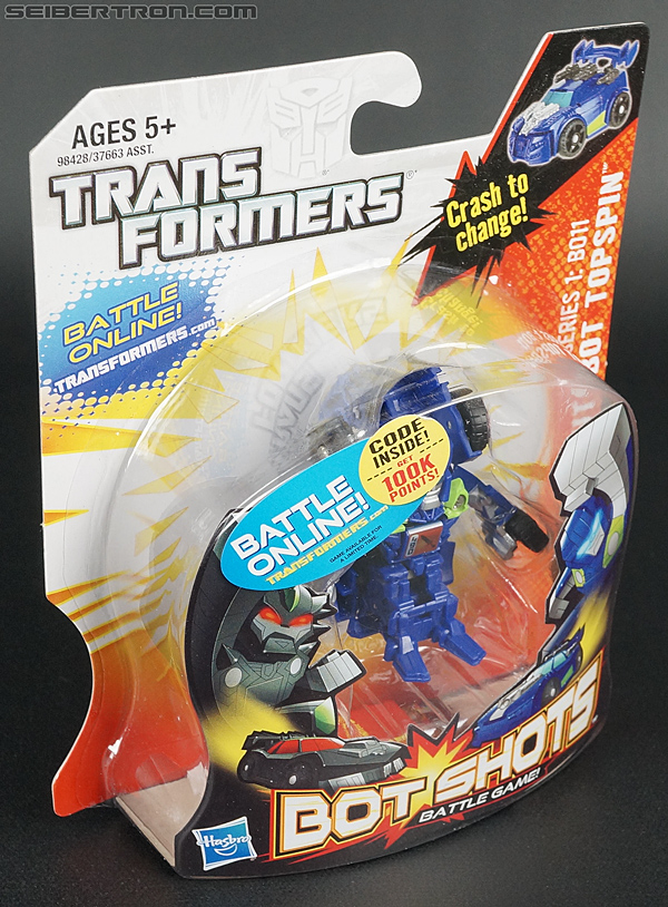 Transformers Bot Shots Topspin (Image #4 of 75)