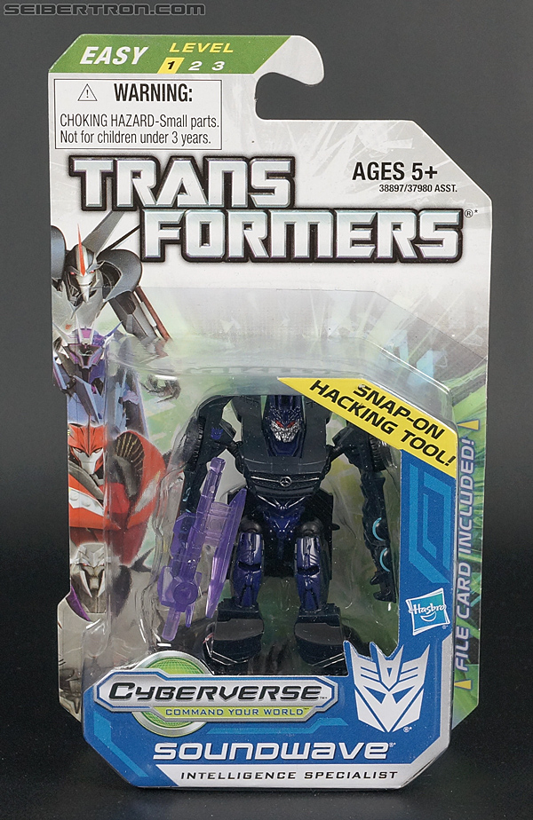 Transformers Cyberverse Soundwave (Image #1 of 100)