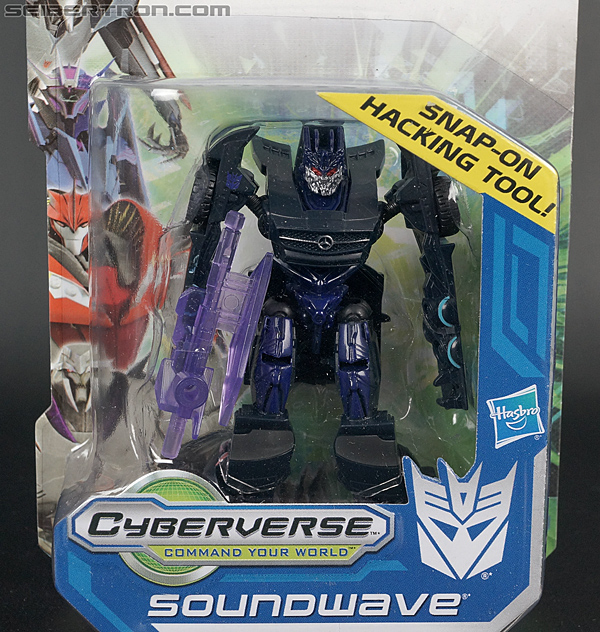 Transformers Cyberverse Soundwave (Image #2 of 100)