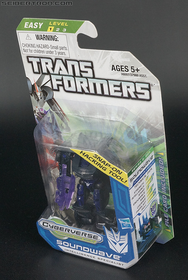 Transformers Cyberverse Soundwave (Image #10 of 100)