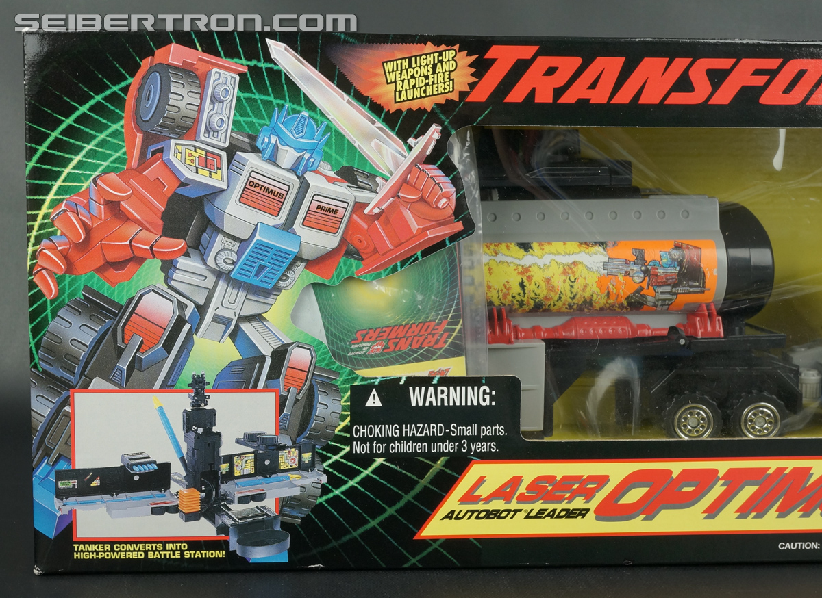 Transformers Generation 2 Laser Optimus Prime (Battle Convoy) (Image #2 of 123)
