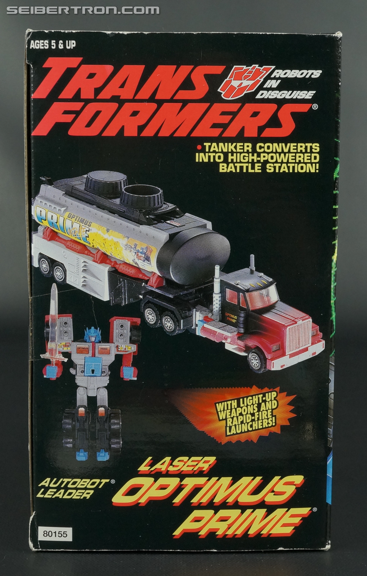 Transformers Generation 2 Laser Optimus Prime (Battle Convoy) (Image #7 of 123)