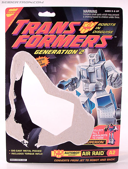 Transformers Generation 2 Air Raid (Air Rider) (Image #1 of 74)