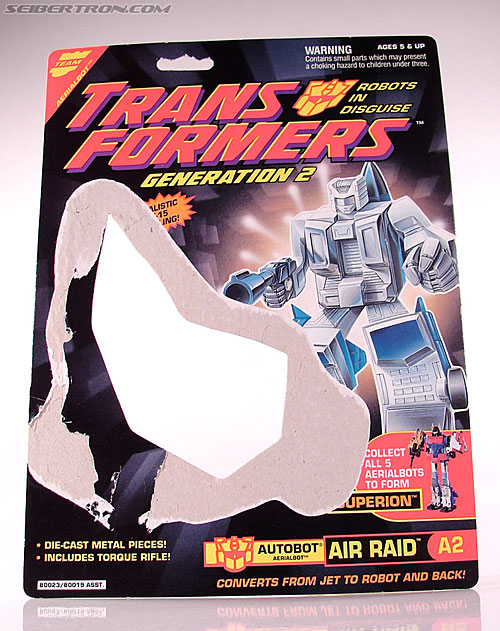 Transformers Generation 2 Air Raid (Air Rider) (Image #6 of 74)