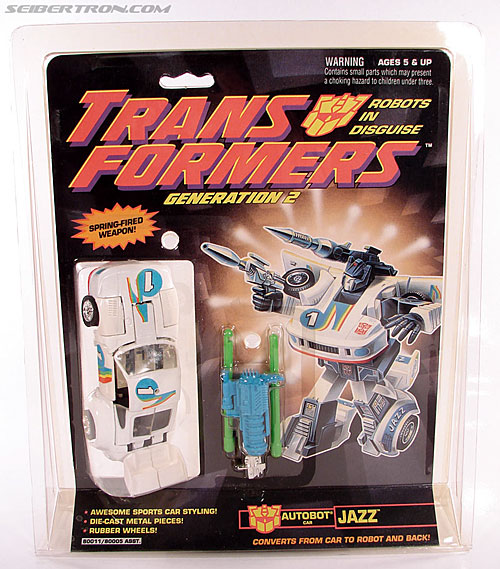 Transformers Generation 2 Jazz (Image #1 of 105)