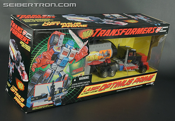 Transformers Generation 2 Laser Optimus Prime (Battle Convoy) (Image #6 of 123)