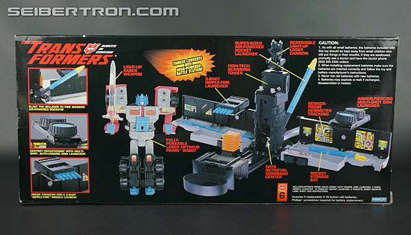 Transformers Generation 2 Laser Optimus Prime (Battle Convoy) (Image #9 of 123)