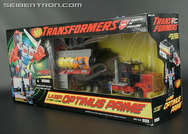 Transformers Generation 2 Laser Optimus Prime (Battle Convoy) (Image #16 of 123)