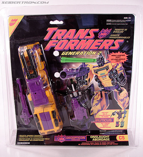 Transformers Generation 2 Onslaught (Image #1 of 110)