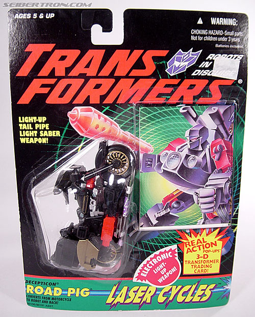 Transformers Generation 2 Road Pig (Image #1 of 60)