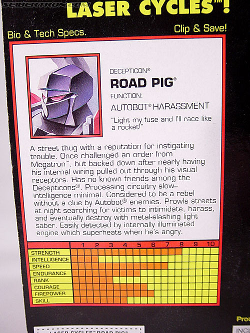 Transformers Generation 2 Road Pig (Image #7 of 60)