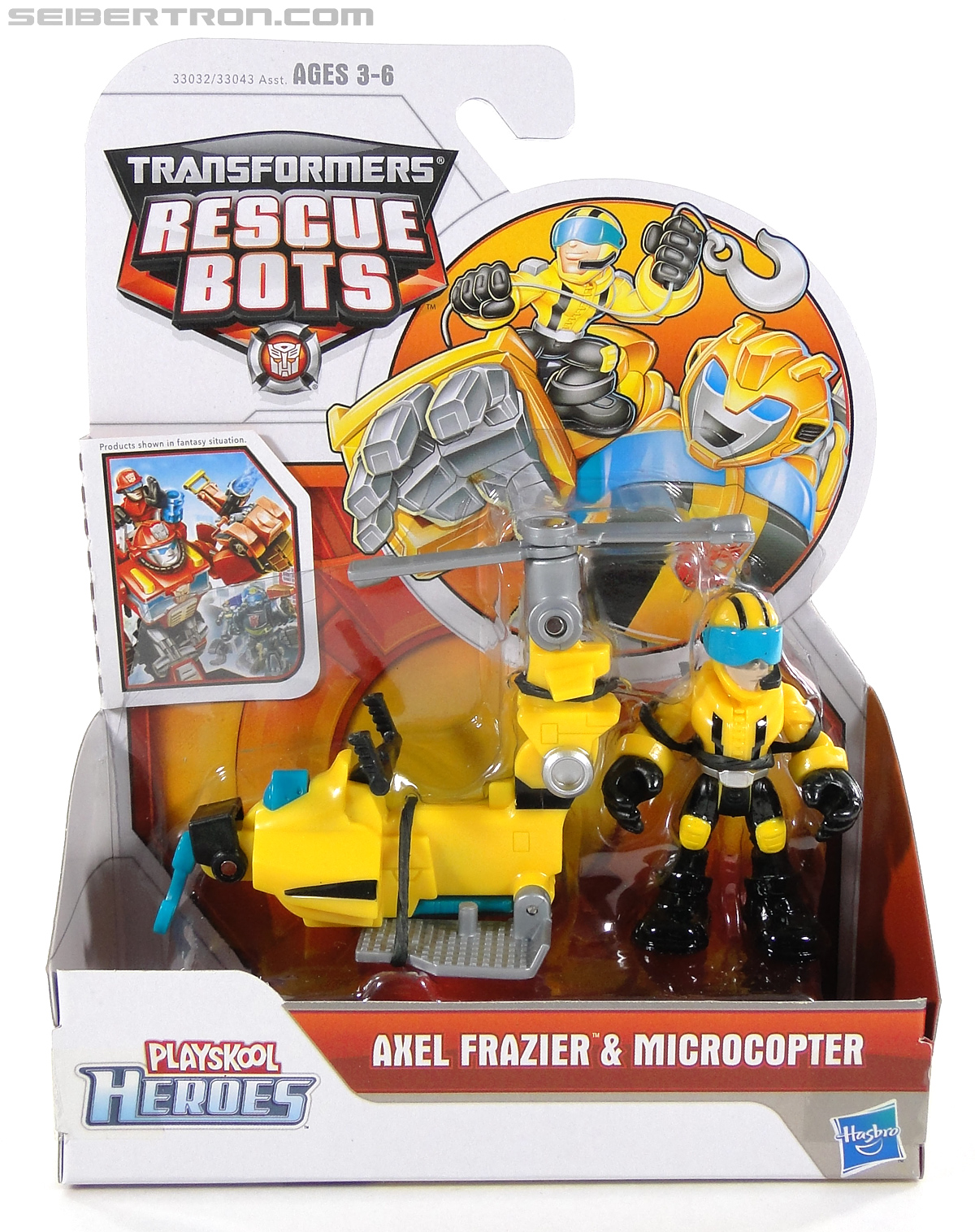 Transformers Rescue Bots Axel Frazier & Microcopter (Image #1 of 77)