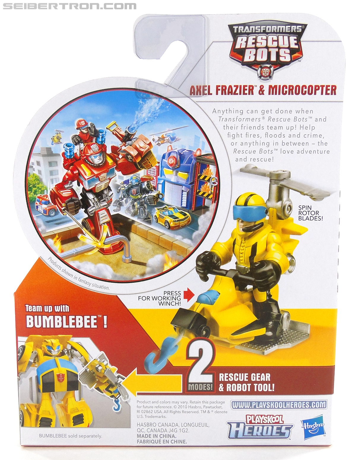 Transformers Rescue Bots Axel Frazier & Microcopter (Image #7 of 77)