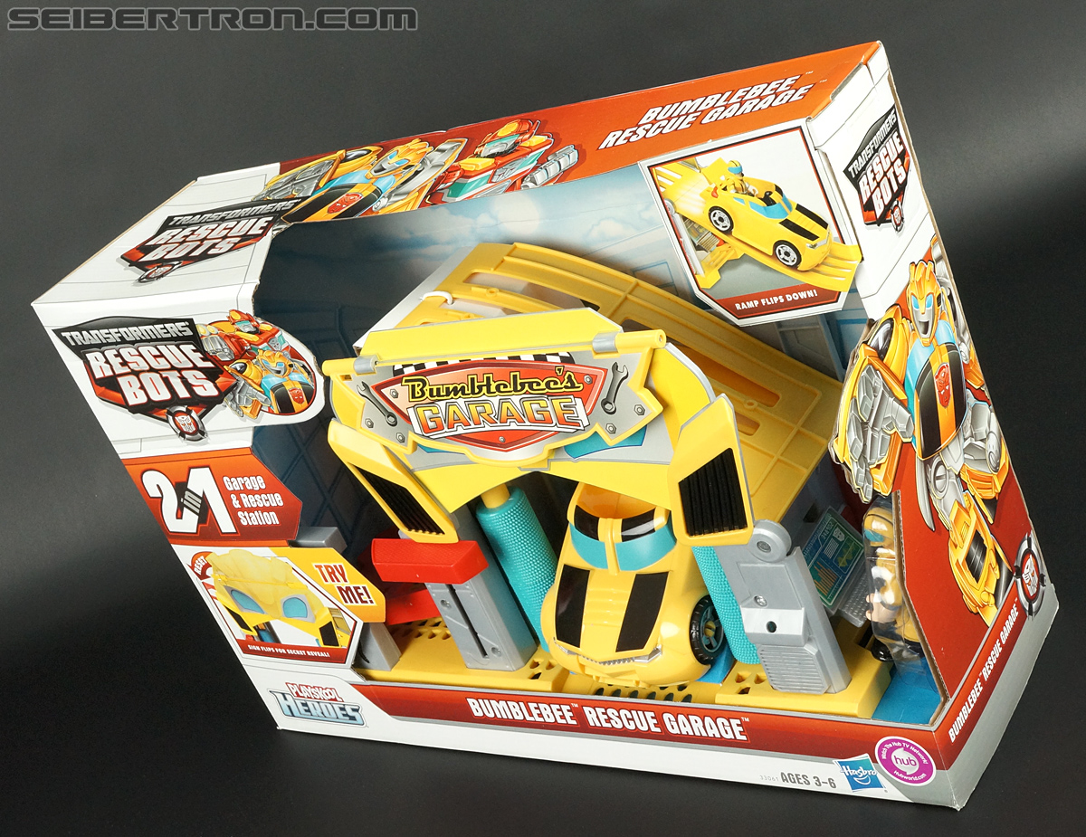 Transformers Rescue Bots Bumblebee Rescue Garage (Image #25 of 80)