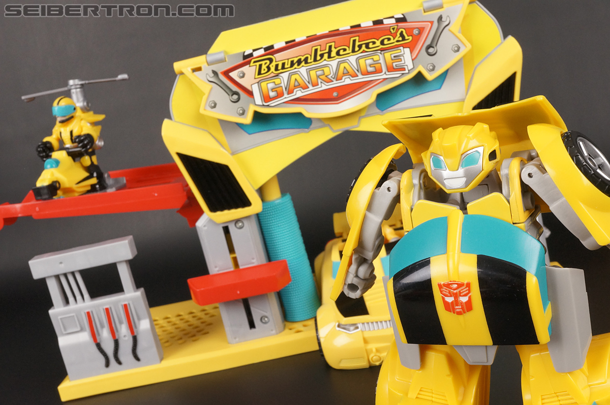 Transformers Rescue Bots Bumblebee Rescue Garage (Image #79 of 80)