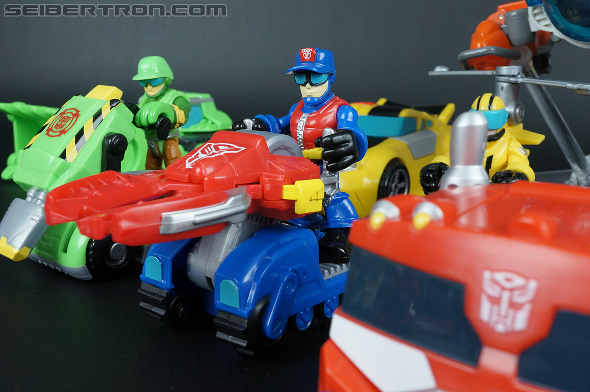 Transformers Rescue Bots Chief Charlie Burns & Rescue Cutter (Image #66 of 79)