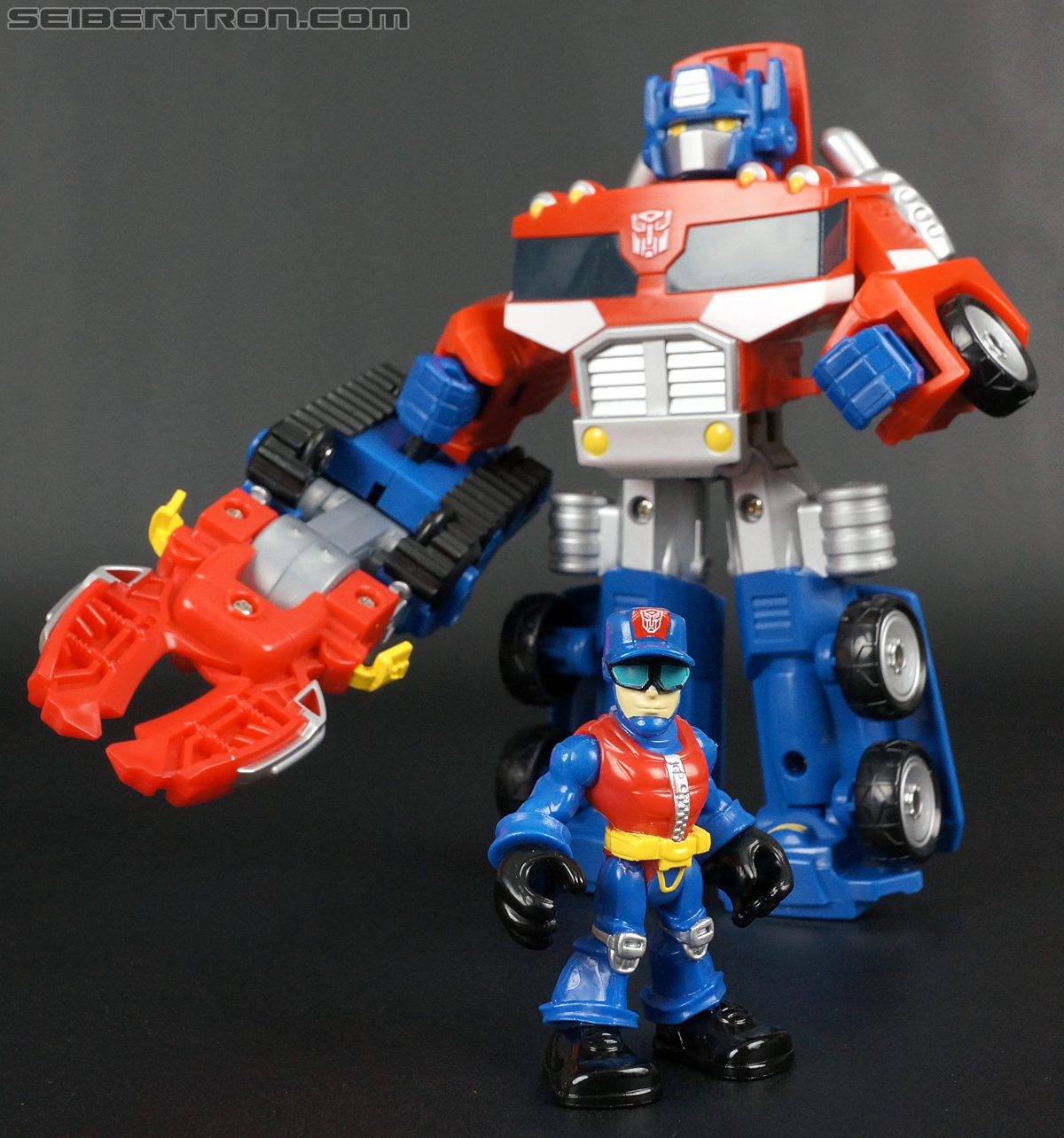 Transformers Rescue Bots Chief Charlie Burns & Rescue Cutter (Image #67 of 79)