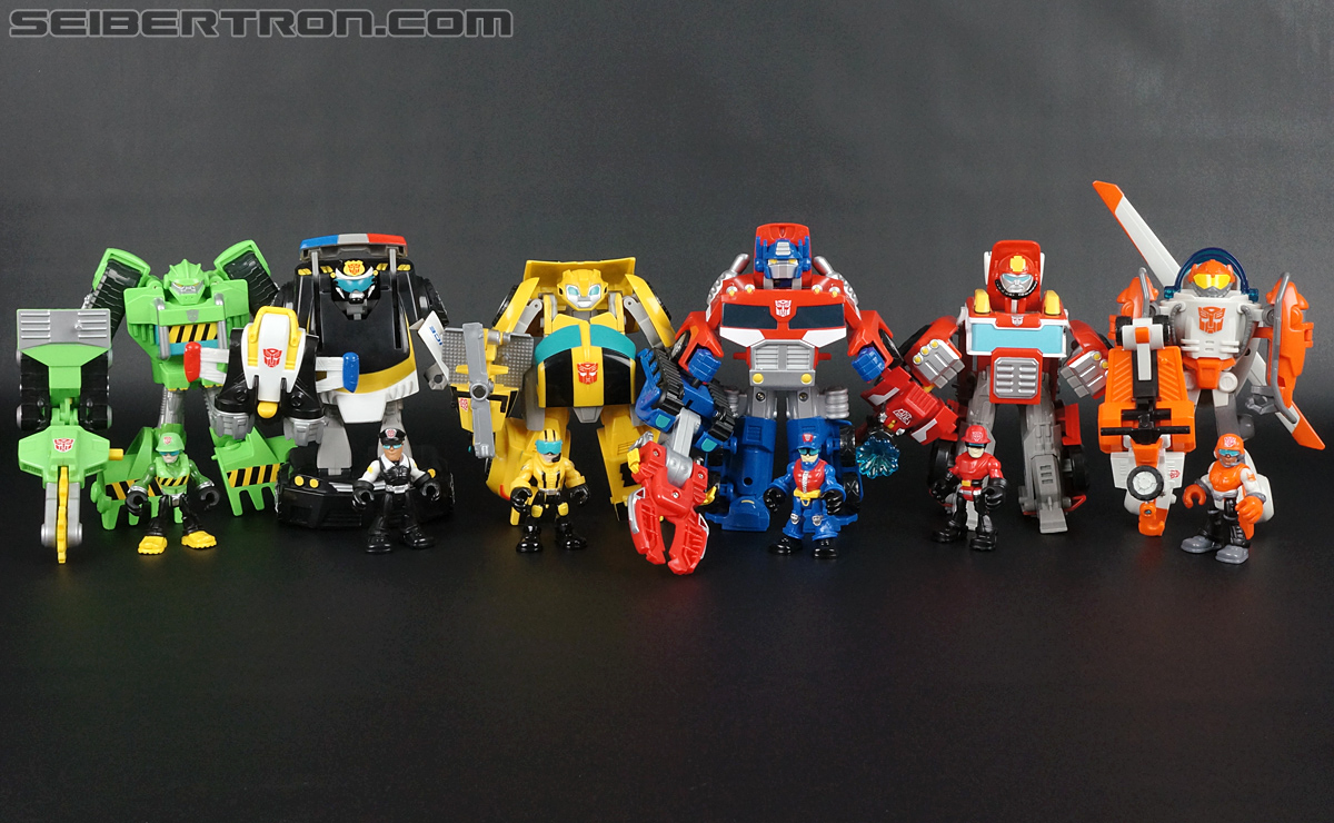 Transformers Rescue Bots Chief Charlie Burns & Rescue Cutter (Image #69 of 79)