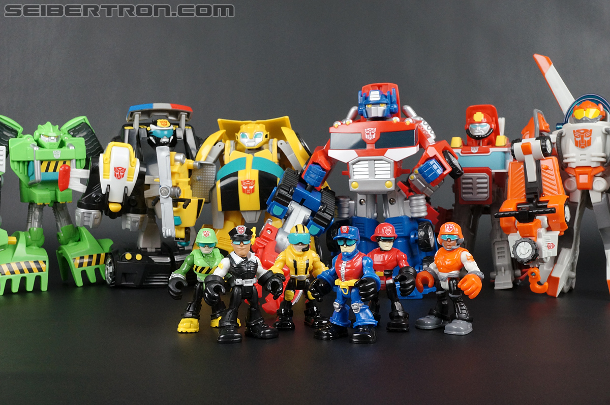 Transformers Rescue Bots Chief Charlie Burns & Rescue Cutter (Image #71 of 79)