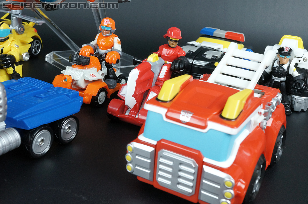 Transformers Rescue Bots Cody Burns & Rescue Axe (Image #59 of 68)