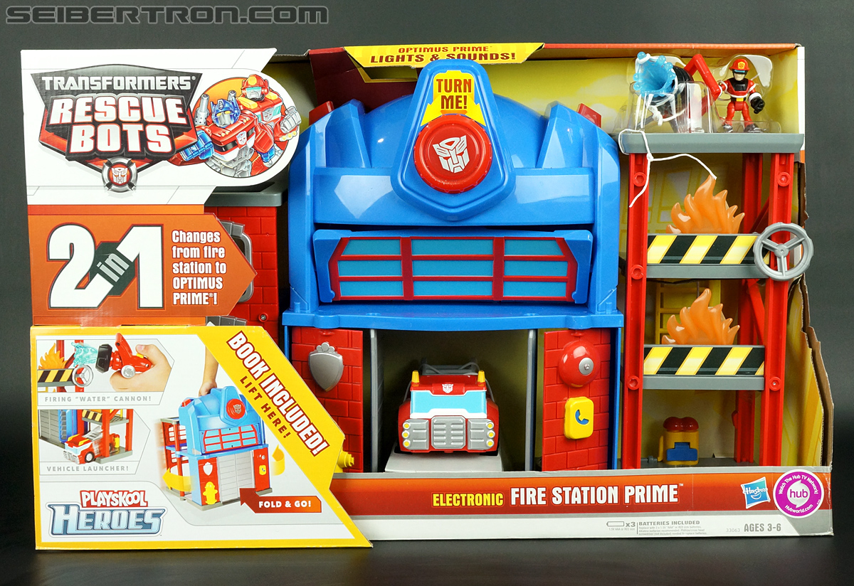 Transformers Rescue Bots Fire Station Prime (Image #1 of 136)