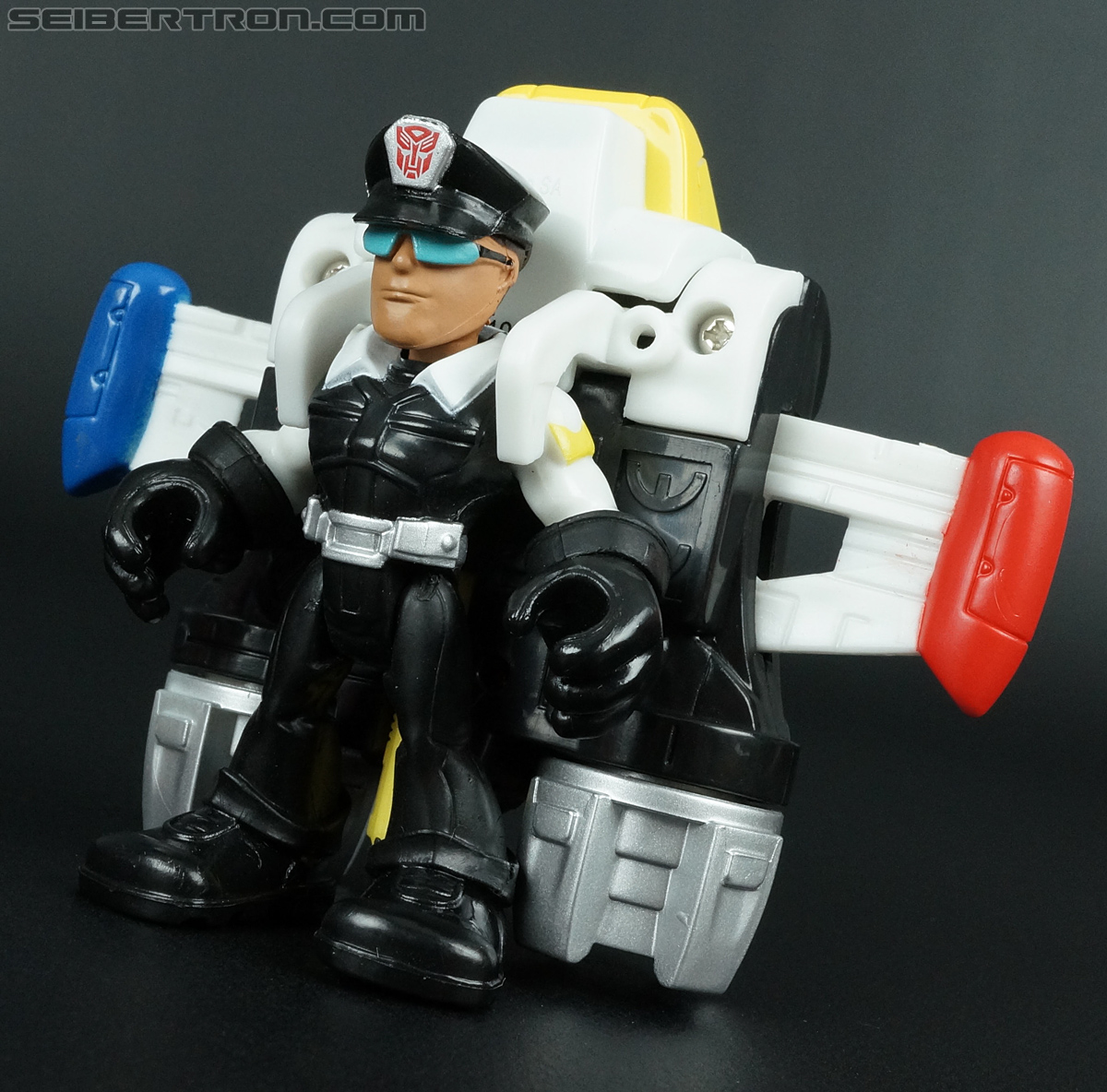 Transformers Rescue Bots Jack Tracker & Jet Pack (Billy Blastoff & Jet Pack) (Image #27 of 75)