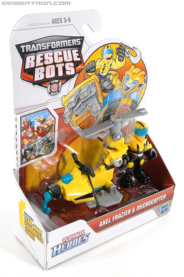 Transformers Rescue Bots Axel Frazier & Microcopter (Image #5 of 77)