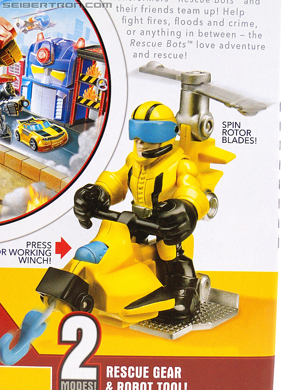 Transformers Rescue Bots Axel Frazier & Microcopter (Image #8 of 77)