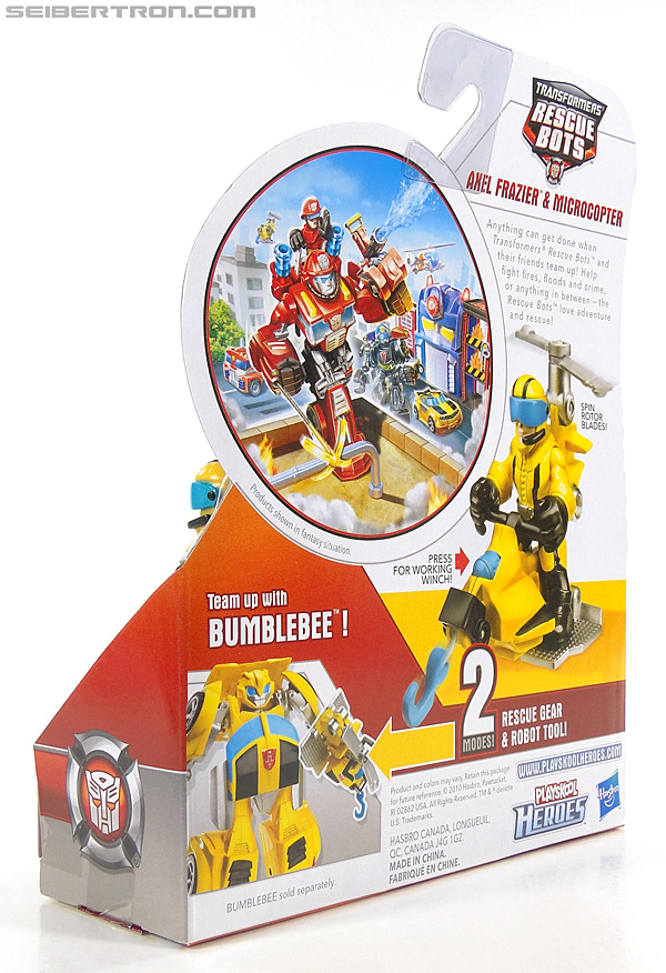 Transformers Rescue Bots Axel Frazier & Microcopter (Image #10 of 77)