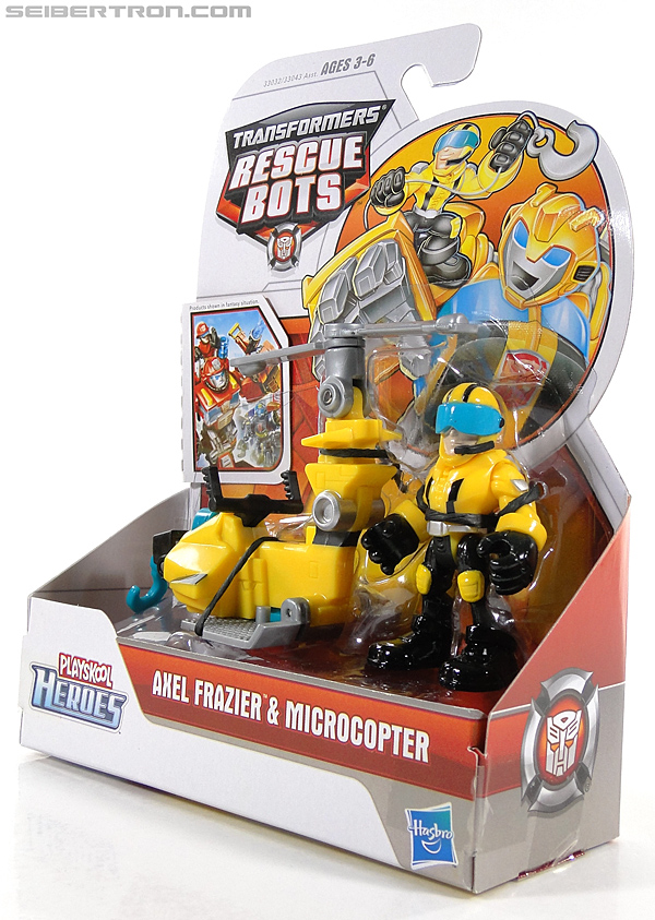 Transformers Rescue Bots Axel Frazier & Microcopter (Image #11 of 77)