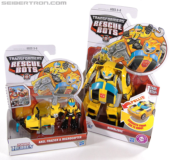 Transformers Rescue Bots Axel Frazier & Microcopter (Image #16 of 77)