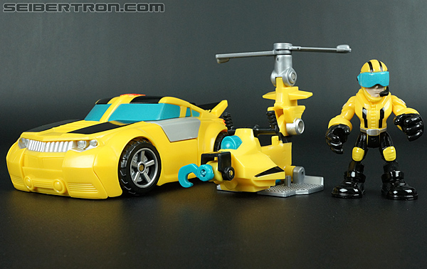 Transformers Rescue Bots Axel Frazier & Microcopter (Image #60 of 77)
