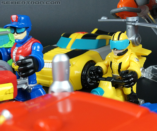 Transformers Rescue Bots Axel Frazier & Microcopter (Image #63 of 77)
