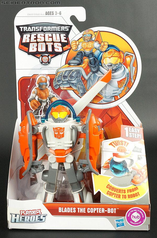 Transformers Rescue Bots Blades the Copter-bot (Image #1 of 122)