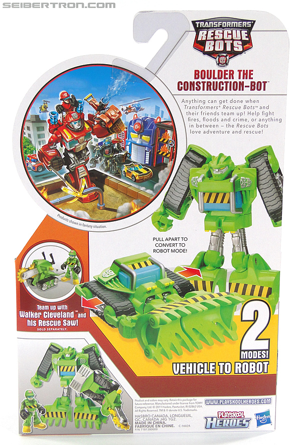 Transformers Rescue Bots Boulder the Construction-Bot (Image #9 of 119)